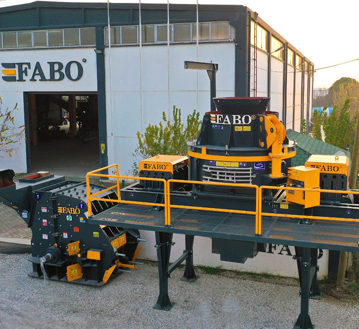 Advantages of FABO Vertical Shaft Impact Crusher