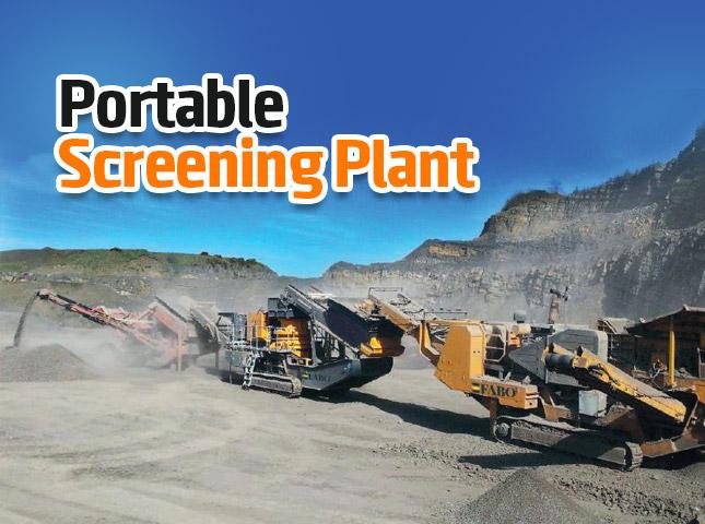 Portable Screening Plant