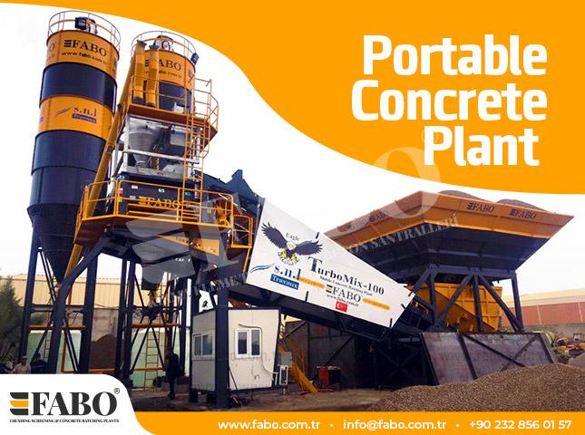 Portable Concrete Plant