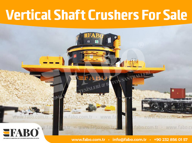 Vertical Shaft Crushers For Sale