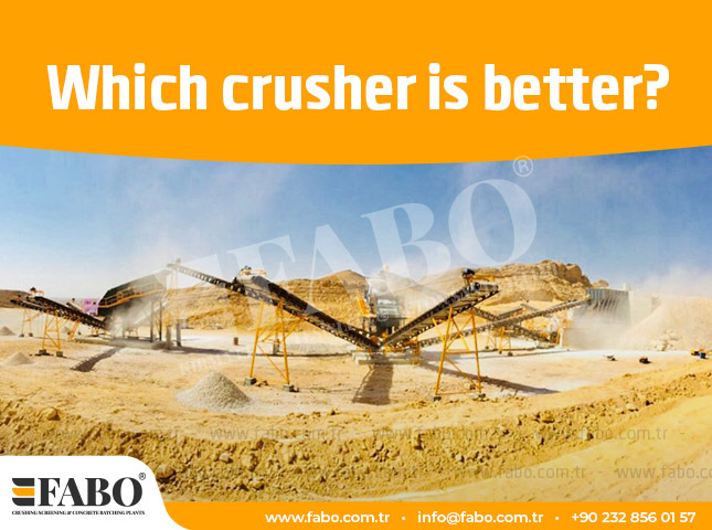 Which Crusher Is Better?