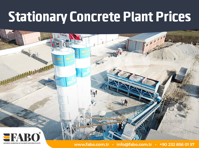 Prices of Stationary Concrete Batching Plant