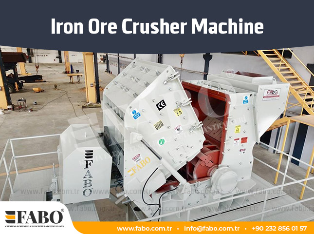 Iron Ore Crushing Machine