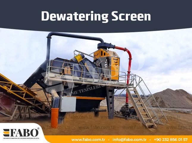 Dewatering Screen